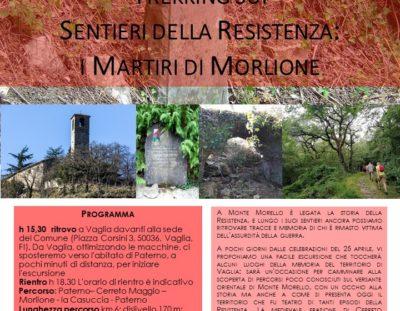 Trekking sui  Sentieri della Resistenza: i Martiri di Morlione