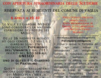 Visita guidata gratuita Parco Mediceo di Pratolino