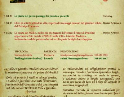 Visite guidate gratuite al Parco Mediceo di Pratolino: ultima giornata