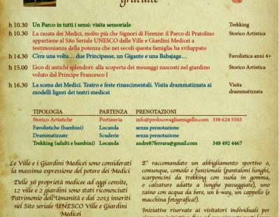 Parco Mediceo di Pratolino, domenica 6 ottobre