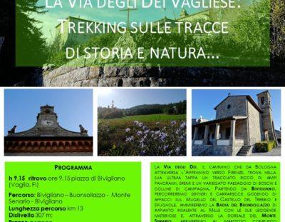 La Via degli Dei vagliese: trekking sulle tracce di storia e natura